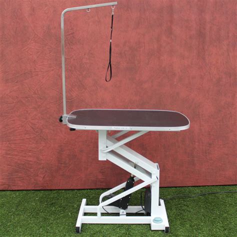 hydraulic grooming table oval grooming table hydraulic