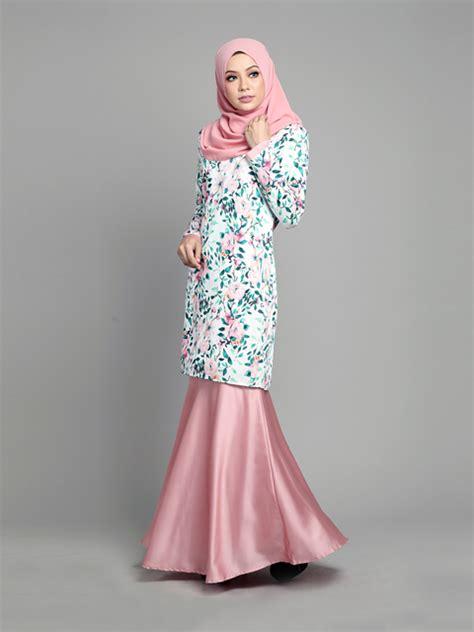 Beza Baju Kurung Pesak Gantung Dengan Baju Kurung Pahang baju kurung moden arielle pink blush lovelysuri
