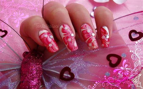 valentines day nail designs s day nail design 2 by tartofraises nailic