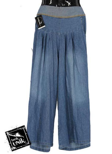 Celana Semi Rok celana kulot overdex semi aksen semprot bawahan