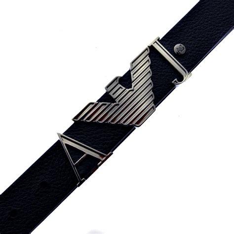 Casual Belt Black armani black leather casual belt q6102 59 ajm2410 at