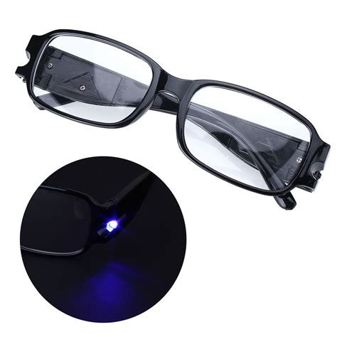 rimmed reading eye eyeglasses bedroom spectacal with led
