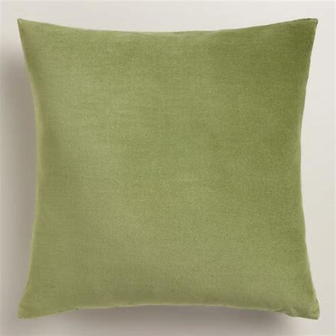 Green Velvet Throw Pillows by Iguana Green Velvet Throw Pillow World Market