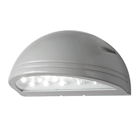 led wall pack lights illume lighting outdoor silver grey led wall pack i 1190