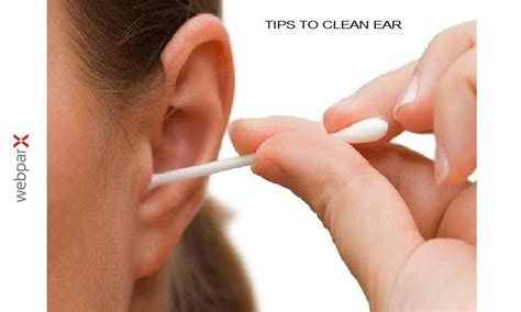 clean ears cleaning your ears images