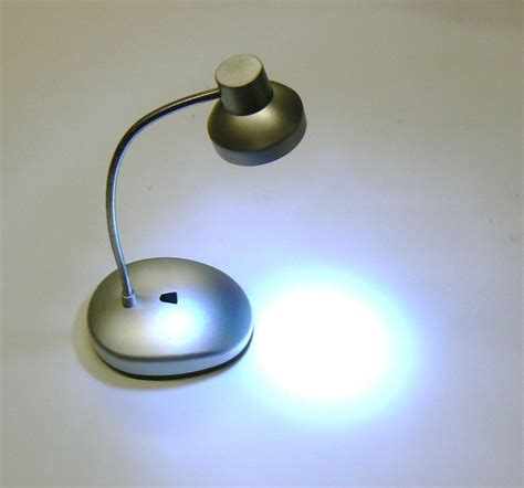 battery operated reading ls lights led mini table l gooseneck desk l 14 led with