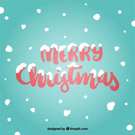 merry christmas wallpaper vector merry christmas background with snow vector free download