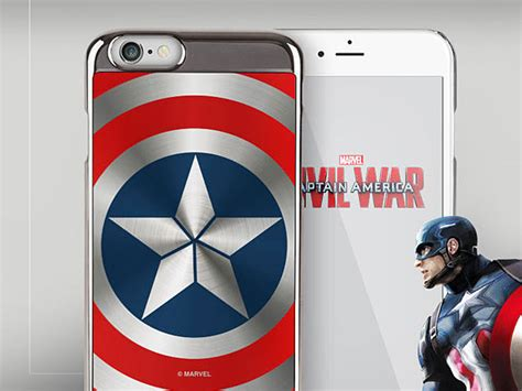 Captain America Shield Iphone 6 Cover marvel captain america shield for iphone 6 6s
