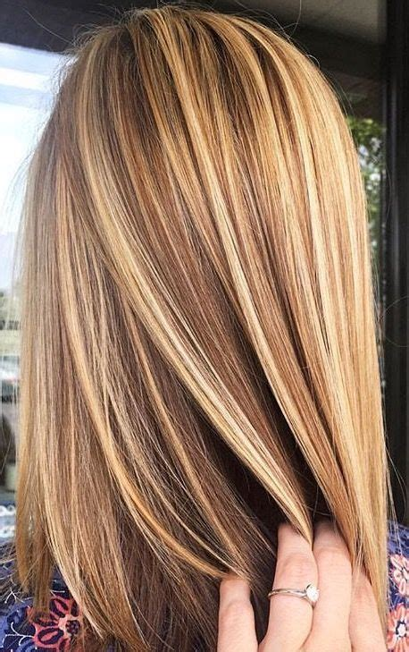 Brunette With Blonde Highlights For Women 50 And Over | 25 best ideas about brown with blonde highlights on