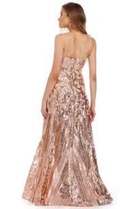 grace rose gold princess dress