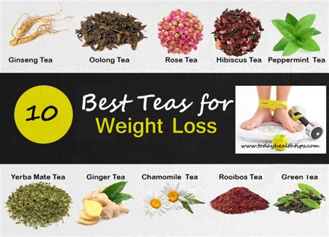 Different Types Of Detox Tea by 8 Magical Weight Loss Teas Different Types Of Teas For