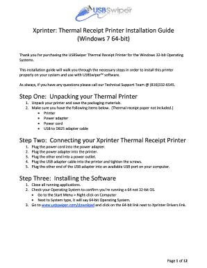 Xprinter - Fill Online, Printable, Fillable, Blank | PDFfiller