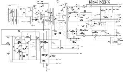 wiring diagram atx switching power supply circuit