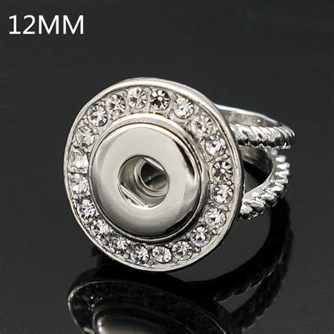 Snap Ring H 12 Mm Hitam aliexpress buy new 2016 jz0016 trendy rhinestone