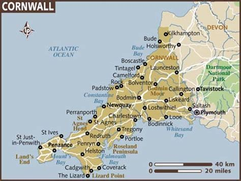 map uk cornwall cornwall captivates me about travel