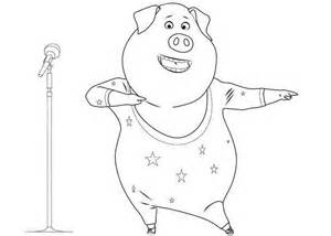 sing coloring page sing coloring pages to and print for free