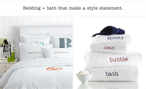 bed and bath outlet personalized bedding bath linens mark and graham