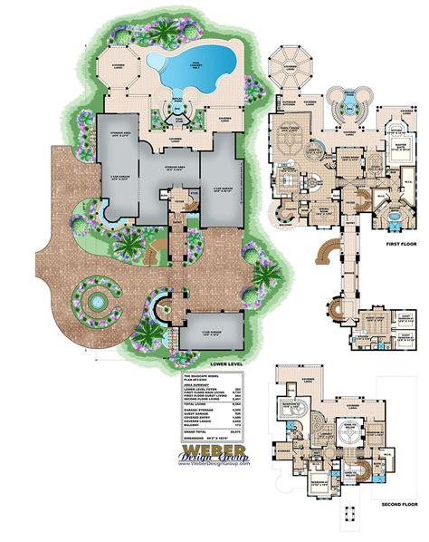 luxury beach house floor plans mediterranean house plan luxury beach mansion home floor plan