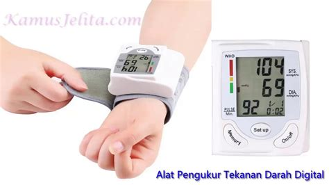 Alat Pengukur Tekanan Darah Blood Pressure Tensimeter Pulse Sistol alat pengukur tekanan darah tensimeter digital paling