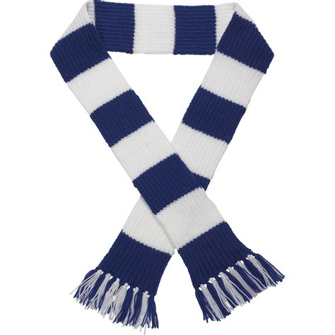 knitting pattern wool scarf craft hobby knitted scarf kit football rugby dk double