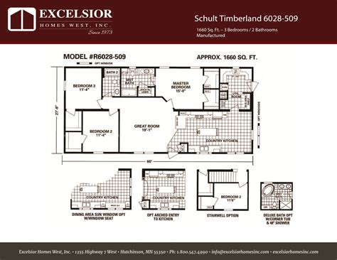 schult timberland 6028 508 excelsior homes west inc schult timberland 6028 509 excelsior homes west inc