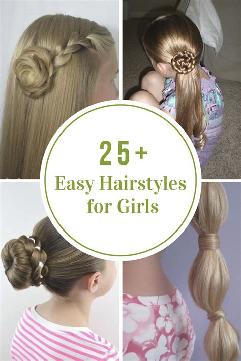 cute hairstyles and easy harvardsol com easy hairstyles for girls the idea room