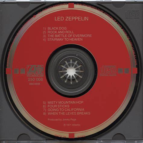 Cd Led Zeppelin target cd led zeppelin iv v003