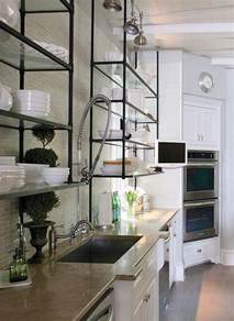 metal shelves for kitchen 25 best ideas about metal kitchen shelves on