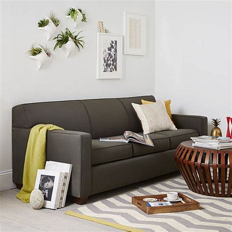 modern gray sofa 15 modern sofas to help you redecorate