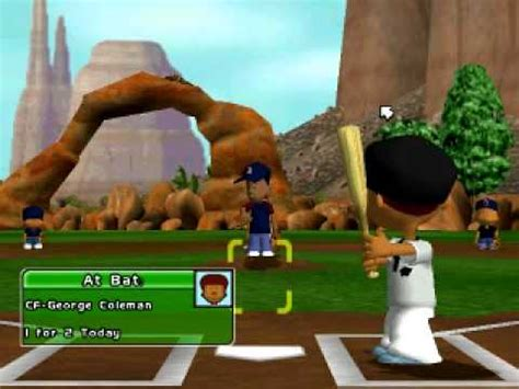 backyard baseball 2005 let s play episode 2 w baltimore