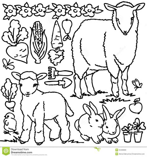 garden creatures coloring pages garden tools coloring pages