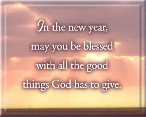 happy new year and god bless
