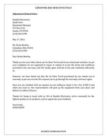 Business Letter Exle News Business Letter Bad News Exles 28 Images Bad News Letter Exles Docshare Tips Business