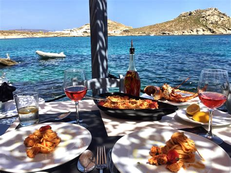 traveling dinner the best lunch in mykonos healthy with nedihealthy with nedi
