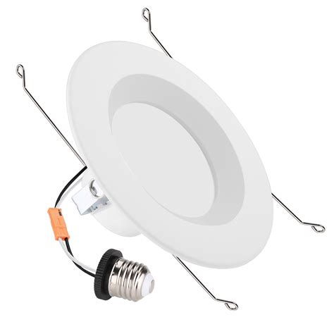 neutral white led light 15w 6 inch dimmable led can lights neutral white 4000k