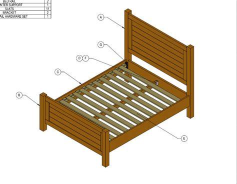 bourbon moth reclaimed bed plans bourbon moth woodworking