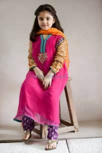 maria b kids wear dresses 2014 for winter