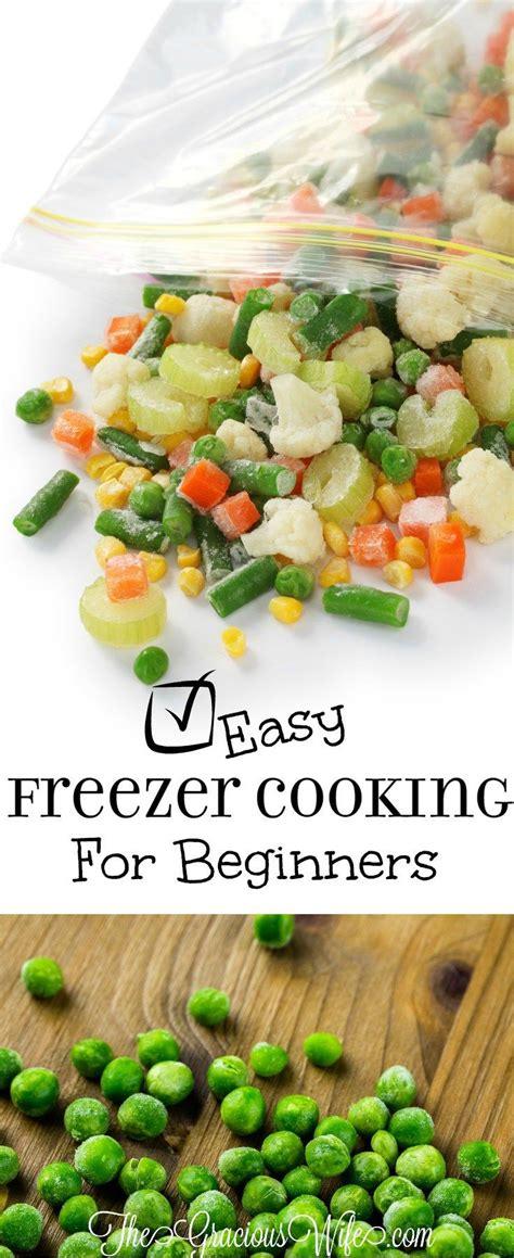 Freezer Cina easy freezer cooking for beginners how to get freezers