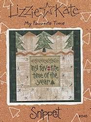 My Favorite Snippets by Lizzie Kate Snippet My Favorite Time Cross Stitch