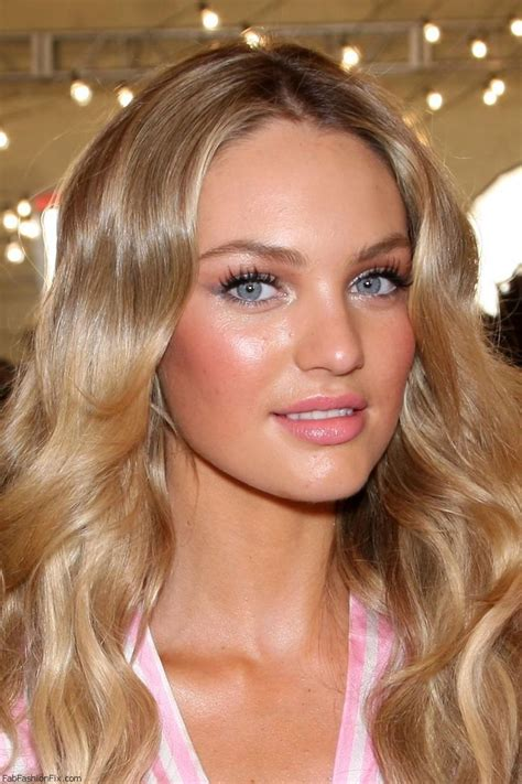 hair and makeup victoria candice swanepoel soft pink make up look victoria