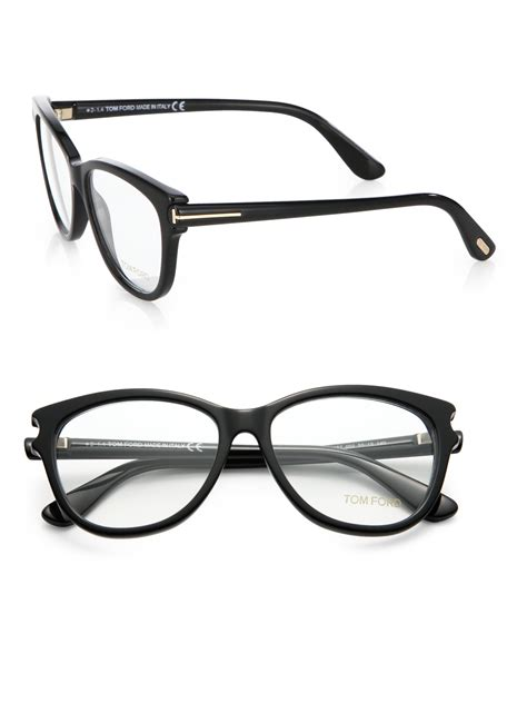 Frame Tomford525 tom ford oversized plastic ophthalmic frames in black lyst
