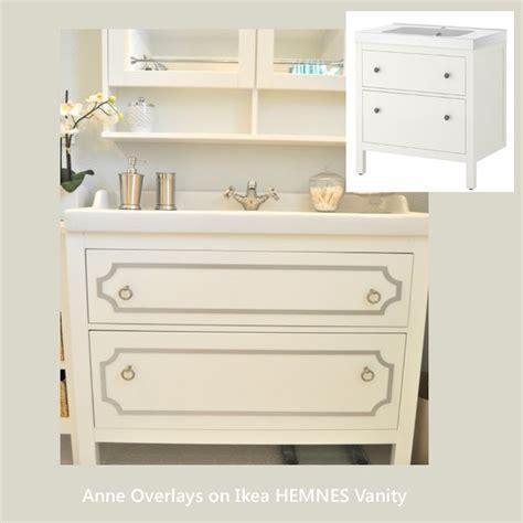 hemnes bathroom vanity o verlays kit for ikea hemnes 31 5 quot vanity cabinet put