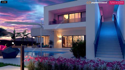 casas casas proyectos de casas casa moderna con piscina