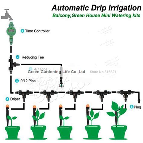 Popular Greenhouse Irrigation System Buy Cheap Greenhouse How To Set Up Drip Irrigation System For Vegetable Garden