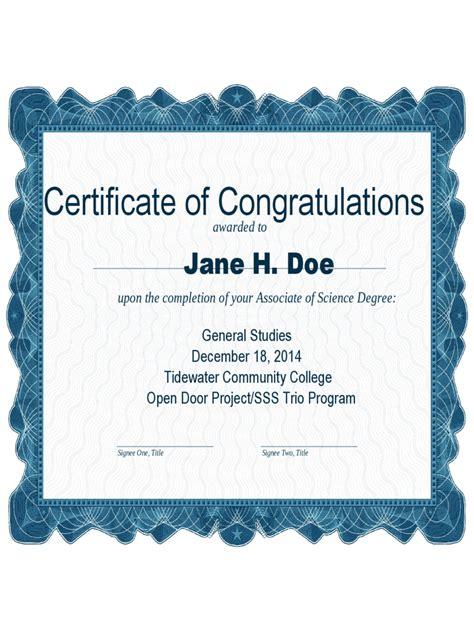 congratulations certificate word template congratulations certificate 4 free templates in pdf