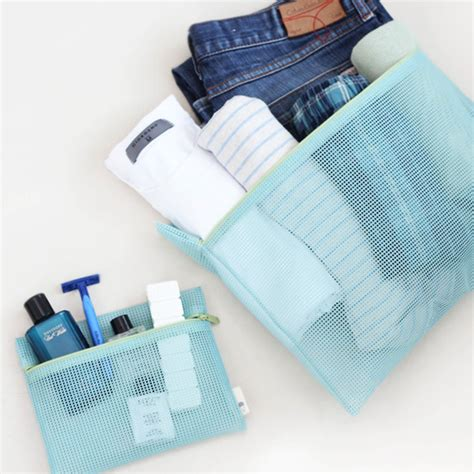mesh travel pouch from iconic design co ltd b2b marketplace portal south korea product