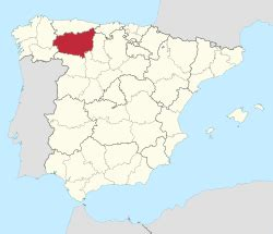 Leon Spain Map by Province Of Le 243 N Wikipedia The Free Encyclopedia