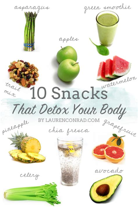 Healthy Diet Detox Cleanse by Tuesday Ten Detox Approved Snacks Conrad