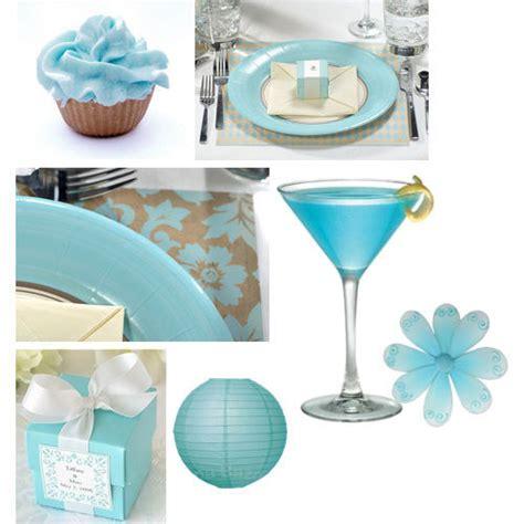Blue Bridal Shower by Something Blue Wedding Theme Bridal Showers