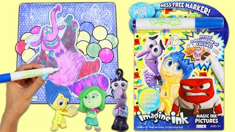 imagine ink coloring book imagine ink inside out magic marker coloring and activity
